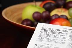 Fruit van de Geest Stock Afbeeldingen