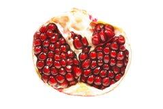 Fruit van een granaatappel Stock Afbeeldingen