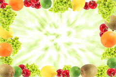 Fruit variety, assortment Royalty Free Stock Photography