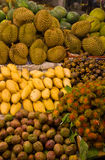 Fruit. A variety of fruits Asia attracts tourists from all over the world Stock Photo