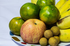 The fruit of various kinds. The fruit of various kinds  on white background Royalty Free Stock Image