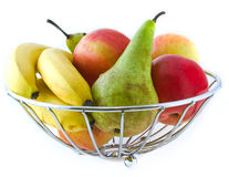 Fruit in a Vase Royalty Free Stock Photo