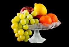 Fruit vase Stock Images