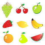 Fruit vector Stock Photography