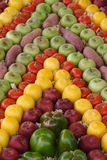 Fruit and veg. On display in a market Royalty Free Stock Image