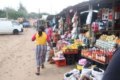 Fruit &  veg. Mozambique Ponta do Ouro  Street market Royalty Free Stock Images