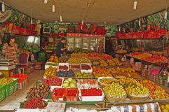 Fruit & Veg shop Stock Image