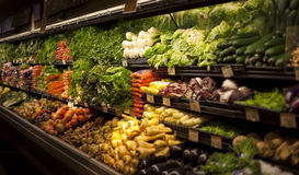 Fruit and vegetable. At market place Royalty Free Stock Image