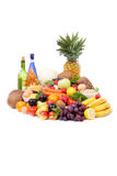 Fruit and Vegetable Assortment Royalty Free Stock Photo