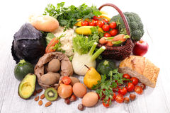 Fruit and vegetable Royalty Free Stock Photography