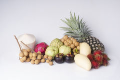 Fruit and vegetable. Borders  borders on wood Royalty Free Stock Photos