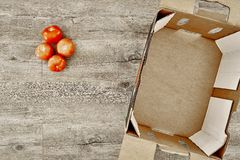 Fruit And Vegetable Box Royalty Free Stock Photo