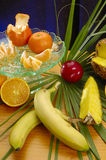 Fruit and Vegetable compostions. Still life of raw fruits and Vegetables compositions. Studio shoot Stock Photography