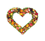 Fruit and vegetable heart