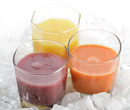 Fruit And Vegetable Juice Stock Image