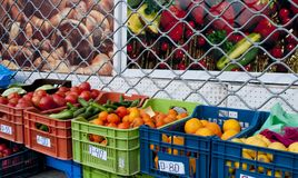 Fruit and vegetable market Royalty Free Stock Photos
