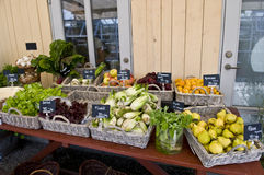 Fruit and Vegetable Market Royalty Free Stock Photo