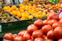 Fruit and vegetable market Royalty Free Stock Images