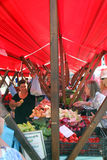 Fruit and vegetable market, Zagreb, Croatia, 7 Stock Photography