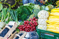 Fruit and Vegetable Market Stock Photography