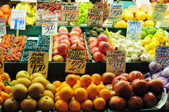 Fruit and Vegetable shop Stock Photos