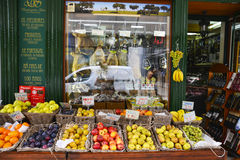 Fruit and Vegetable Shop in Lisbon Royalty Free Stock Photos