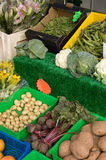 Fruit and Vegetable Stall. At a market royalty free stock photo