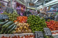 Fruit and Vegetable store at the Market Royalty Free Stock Photography