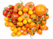 Fruit and vegetable variety Stock Images