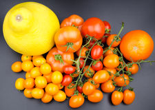 Fruit and vegetable variety Royalty Free Stock Photography