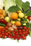 Fruit and vegetables. Healthy fruits and vegetables to feed Stock Photo