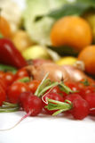 Fruit and vegetables. Healthy fruits and vegetables to feed Royalty Free Stock Photography