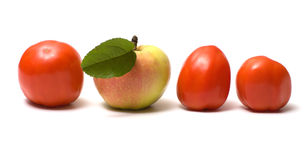 Fruit and vegetables. Stock Photo
