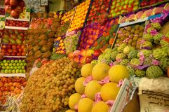 Fruit and vegetables. Picture of a different fruits and vegetables Royalty Free Stock Photography