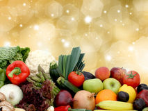 Fruit and vegetables Royalty Free Stock Photography