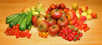 Fruit And Vegetables Stock Photography