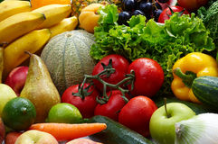 Fruit and vegetables Royalty Free Stock Photo