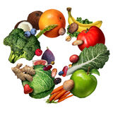 Fruit And Vegetables stock illustration