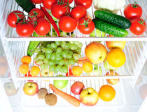Fruit and vegetables assortment Stock Photo