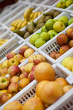 Fruit and vegetables in a grocery store Royalty Free Stock Images