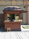 Fruit and vegetables kiosk in Kaunas Royalty Free Stock Image