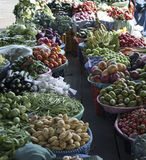 Fruit and vegetables at local market Stock Image