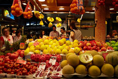 Fruit and vegetables market. Royalty Free Stock Photography