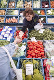 Fruit and vegetables on market in the dutch city of Breda Royalty Free Stock Photo
