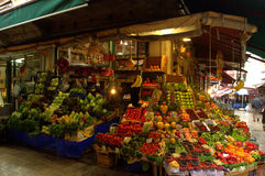 Fruit and Vegetables market Istanbul Royalty Free Stock Photo