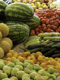 Fruit and vegetables. Organic healthy vegetables and fruits Royalty Free Stock Photography