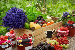 Fruit and vegetables from the region Stock Photo
