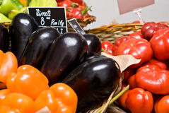 Fruit & Vegetables shop Stock Photo