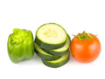 Fruit and Veggies Royalty Free Stock Photos