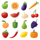 Fruit and Veggies Royalty Free Stock Photo